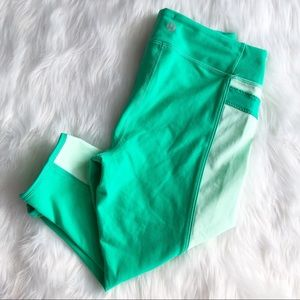 Lululemon • Green Capri Leggings